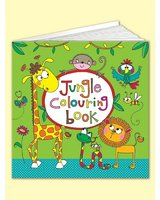 Square Colouring Book - Jungle